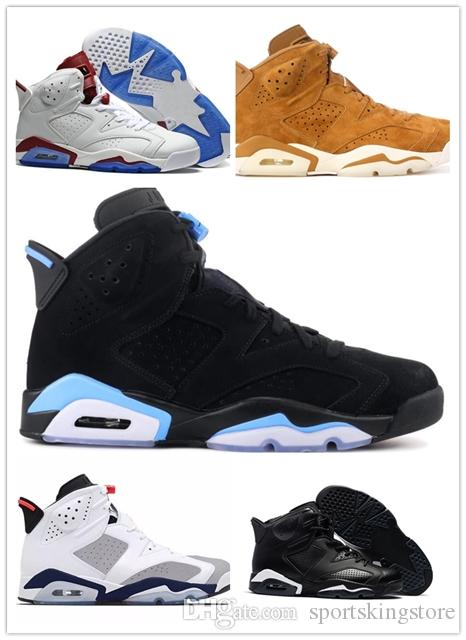 3029bc26cfb85b Man 6 6s Basketball Shoes Sneaker 2019 Mens Women VI Blue Tinker Hatfield  UNC Infrared Maroon Gatorade Golden Carmine Maroon Authentic Shoes East Bay  Shoes ...