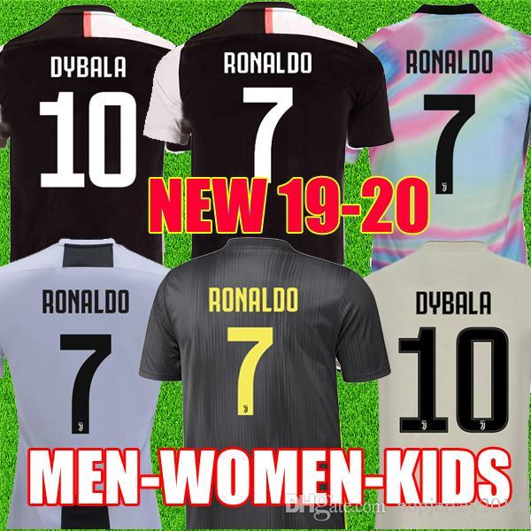 87e0c33ec Thailand RONALDO Juventus 2019 2020 Champions League Soccer Jerseys DYBALA  18 19 20 Sports Football Kit Shirt MEN WOMEN KIDS Sets JUVE Canada 2019  From ...