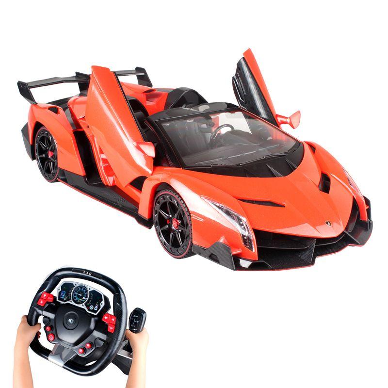 2019 Remote Control Car Charging Children Lamborghini Steering Wheel