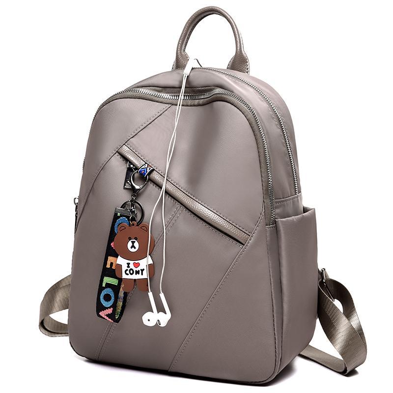 2018 Hot Sale Style Bookbags Womens Backpack Travel Bags Student School Bag  Girl Backpacks Casual Travel Rucksack Shoulder Bags Dakine Backpacks Back  Pack ... c0f1eb398f239