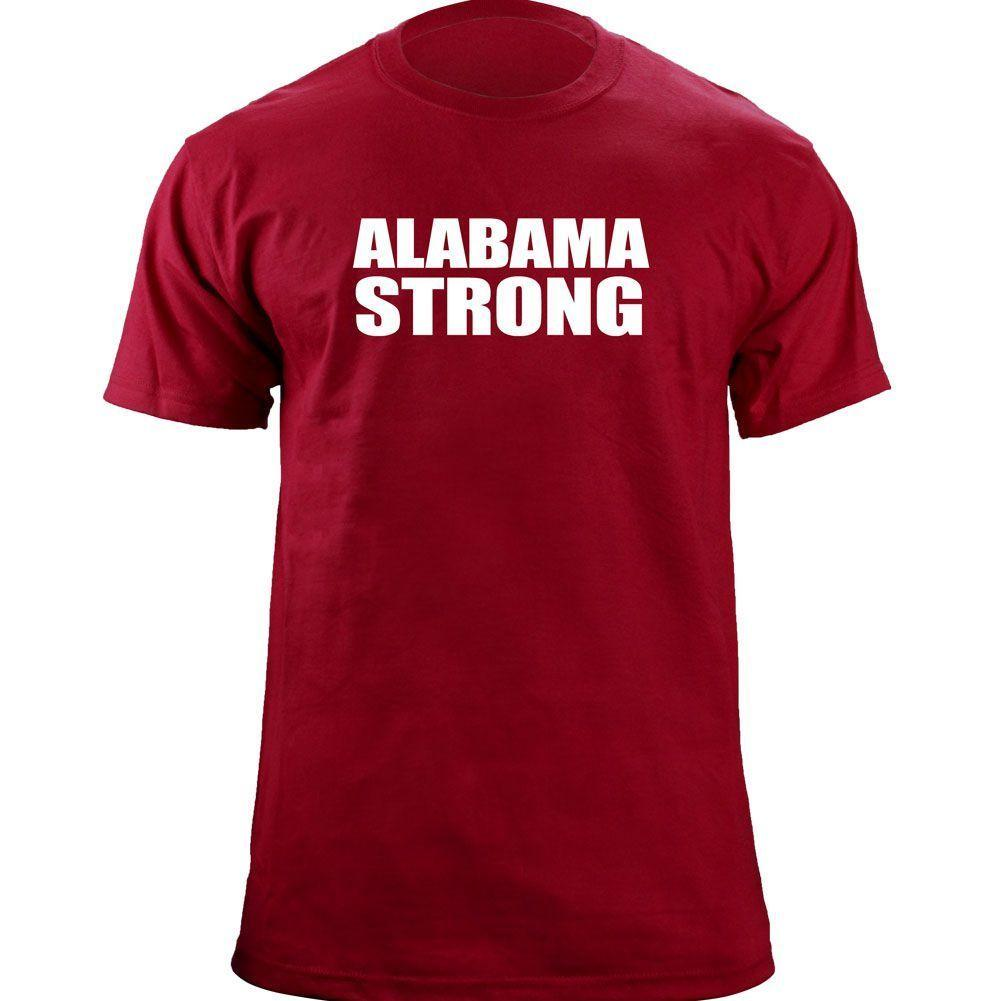 Original Alabama Strong University Roll Tide T Shirt Funny Casual