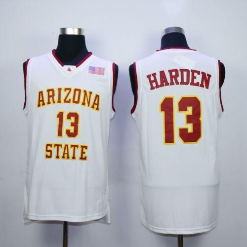 7ca0b43b584 2019 13 James Harden Arizona State Top Retro College Basketball Jersey  Stitched Any Number New Material Top Quality Sewn XS 6XL Vest Jerseys NCAA  From ...