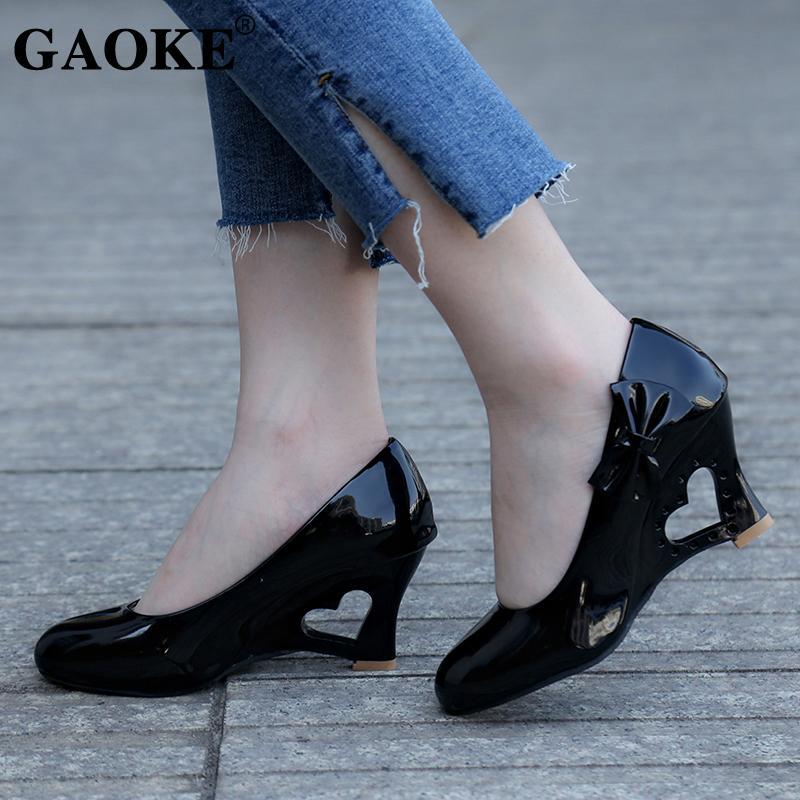 7637e42026c0 Diseñador Zapatos de vestir Mujer Bombas Mujer Tacón alto Grecas Cuñas Moda  Punta redonda Barco Boda nupcial Boda de señora Bombas