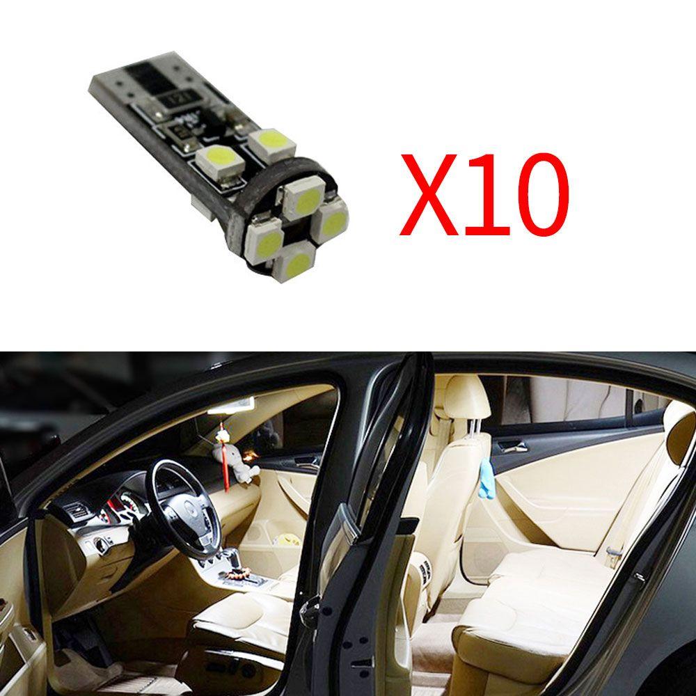 Jumpy T10 C4l Ds4 Citroen Berlingo Picasso Lumière Pour C5 C3 Xsara C4 Ds3 Ds5 Led 10x C2 C6 C8 C1 Saxo Ampoules Intérieure 12v FJ1lKcT