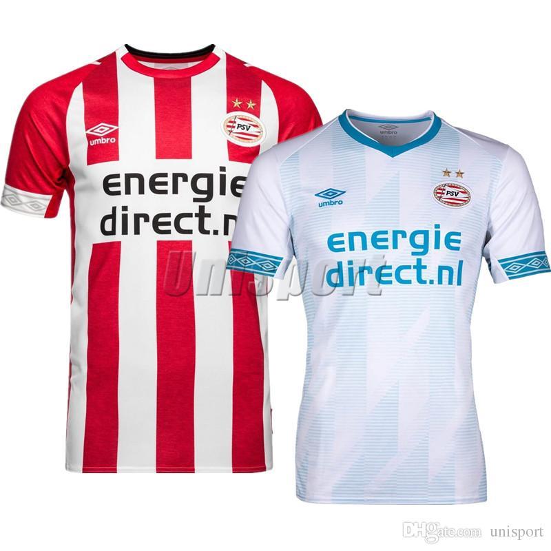 2019 2018 19 Eindhoven Soccer Jerseys Eindhoven Futbol Camisetas Lozano De  Jong Football Camisa Shirt Kit Maillot From Unisport 6ff298b116f82