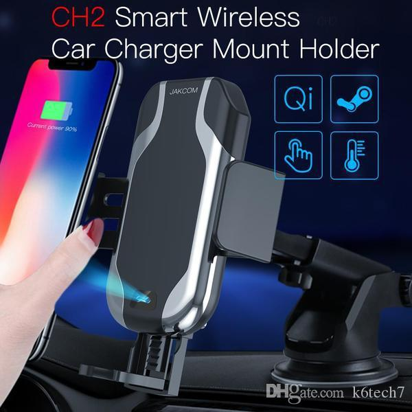 JAKCOM CH2 Smart Wireless Car Charger Mount Holder Hot Sale in Cell Phone Mounts Holders as db33 smartphone clamp memory card