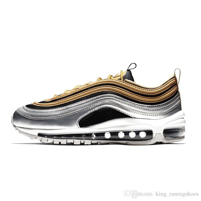 d4aee758a Nike Air Max 97 QS Metallic Pack Zapatillas Para Hombre Mujer ...