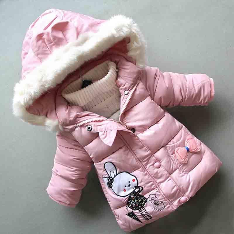 e73503f4dbf0 Good Quality 2019 New Winter Baby Girls Cotton Jacket Newborn Girls ...