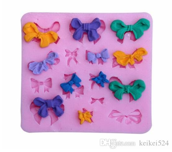 1 pc mini butterfly Chocolate Molds Silicone Cute butterfly Fondant Chocolate Molds Ice mold DIY Baking Tools
