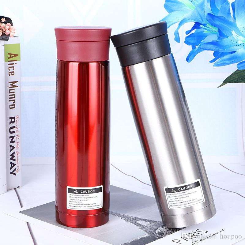 Bulk Lots 17oz Thermos Cups 4 Colors Travel Water Bottles Tumblers Flask  304 Stainless Steel Coffee Mugs Insaluted Wine Glass Teapot