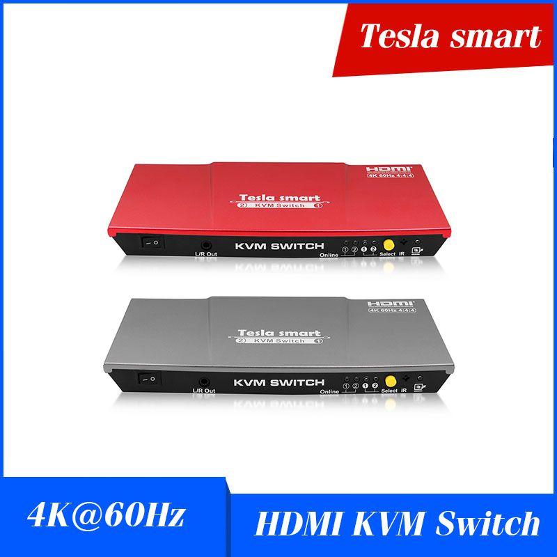 Computer & Büro Neueste Vga Kvm-switch 2 Hafen Unterstützung Tastatur Hotkey Schalter Usb Ps2 Tastatur Maus Switcher Box