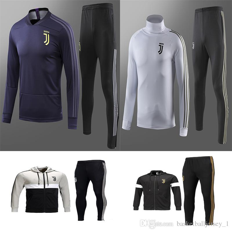 buy popular 99ca9 70975 Juventus soccer jacket training suit 2018-19 RONALDO DYBALA jackets kit  juve full zipper football jacket sweater tracksuit