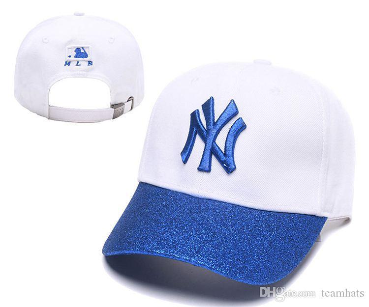 Compre Venta Al Por Mayor Golf Hat Unisex Moda Algodón Gorra De Béisbol  Snapback Sombrero Para Hombres Mujeres Sombrero Para El Sol Gorras Ny  Bordado ... aa210912c82