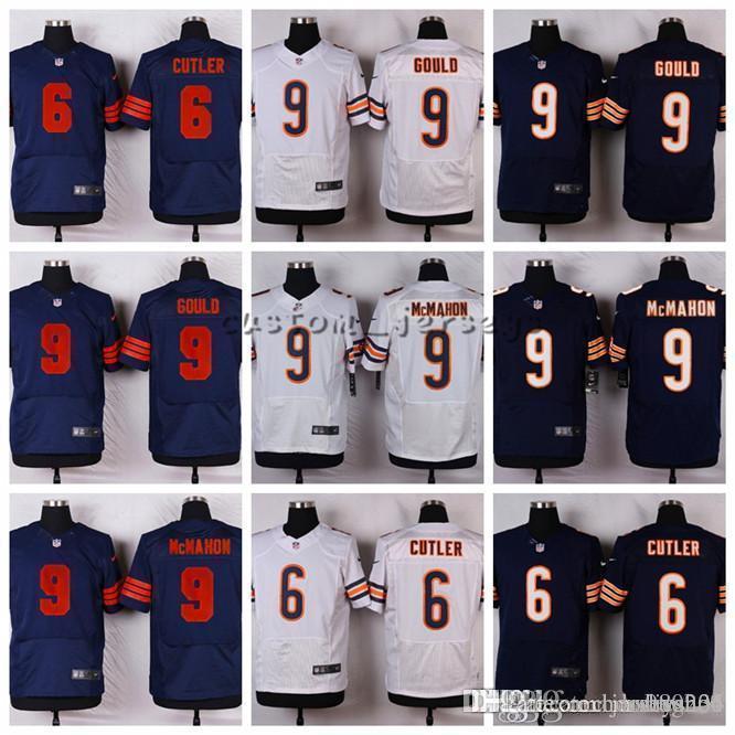 new concept 6407c 18ff6 Chicago Bears #9 Robbie Gould 9 Jim McMahon 6 Jay Cutler Elite Football  Jerseys