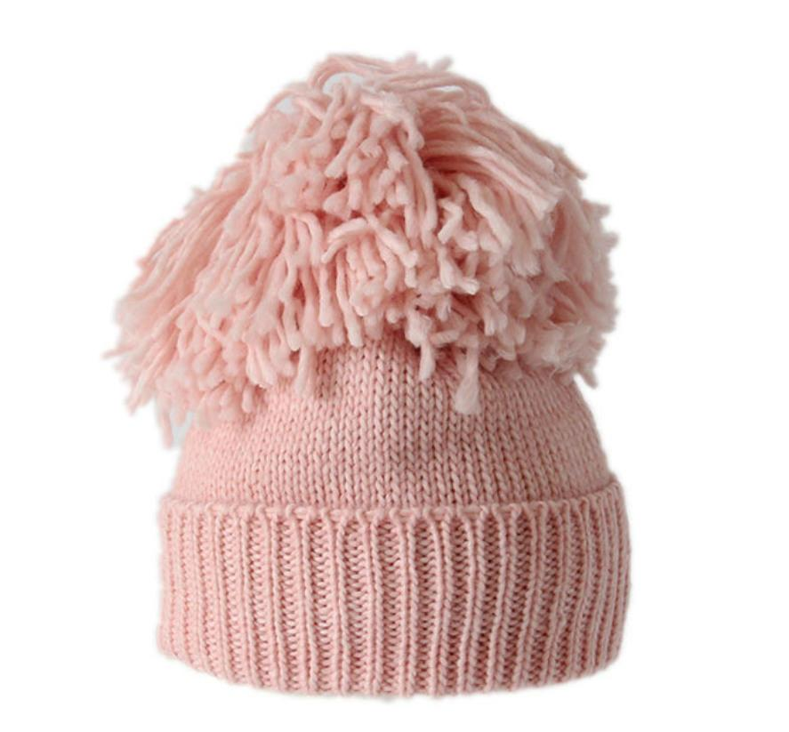 342236ece4c3dd B181129 Winter Pompom Beanie Wool Blend Fashion Women Hat Warmth Ribbed  Knit Beanie Online with $32.35/Piece on Dushibracelet's Store | DHgate.com