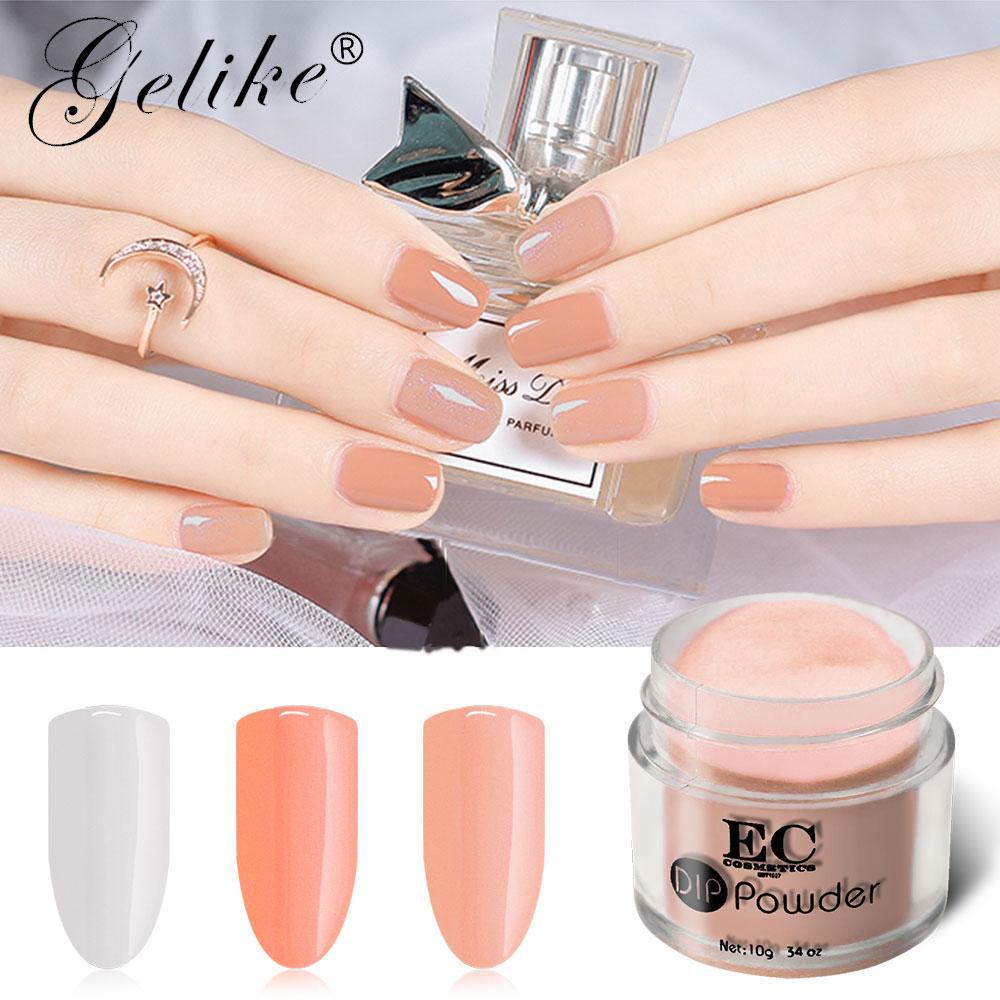 Gelike Dip Powder 10g Nail Polish Organic Gel Designs System Art Uv ...