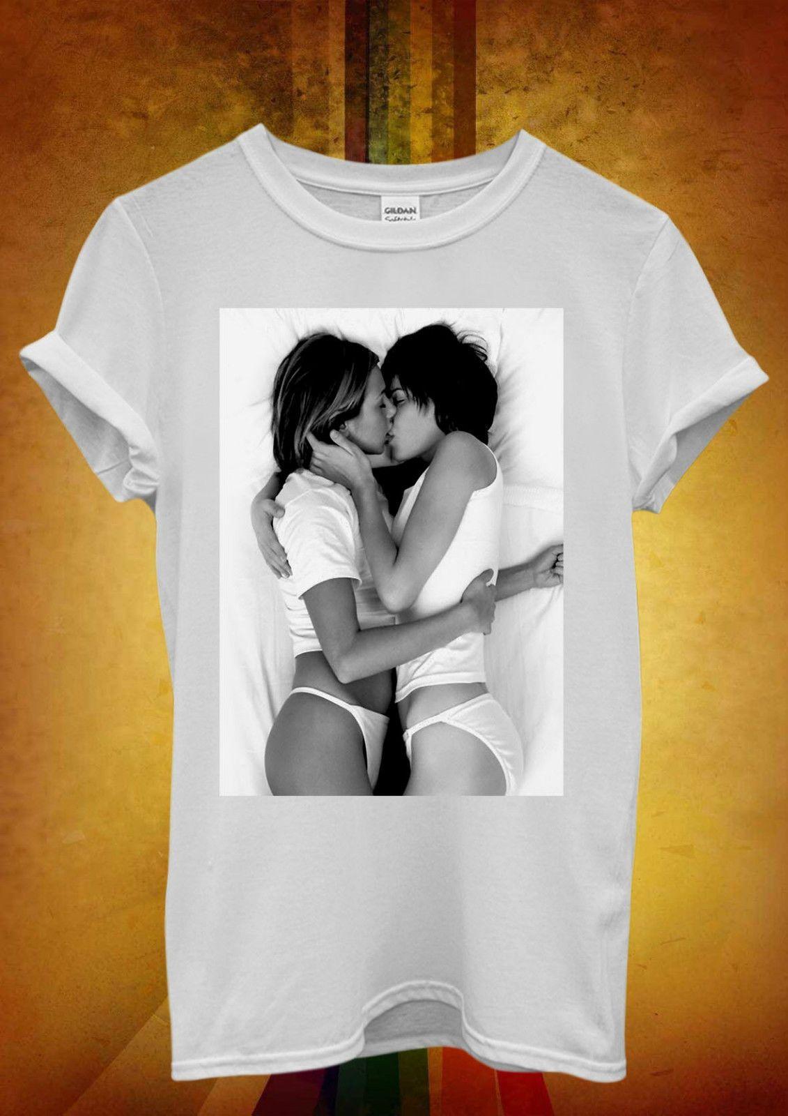 Großhandel Lesbian Kiss y Girls Lustige Coole Männer Frauen