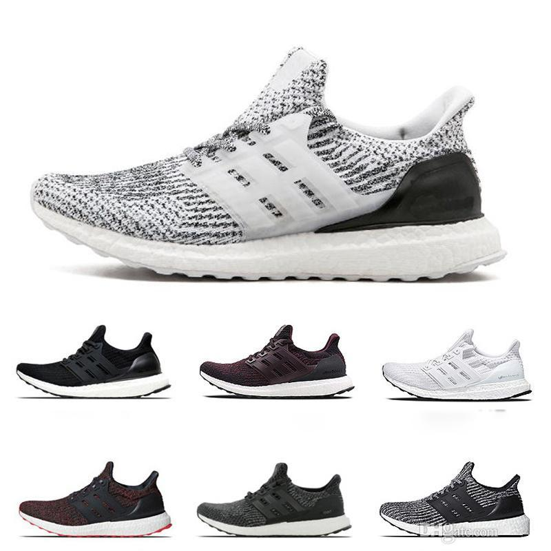 2fa3c6be42be3 Ultra Boost 3.0 Trainers Sports Shoes for Men Triple Black White ...