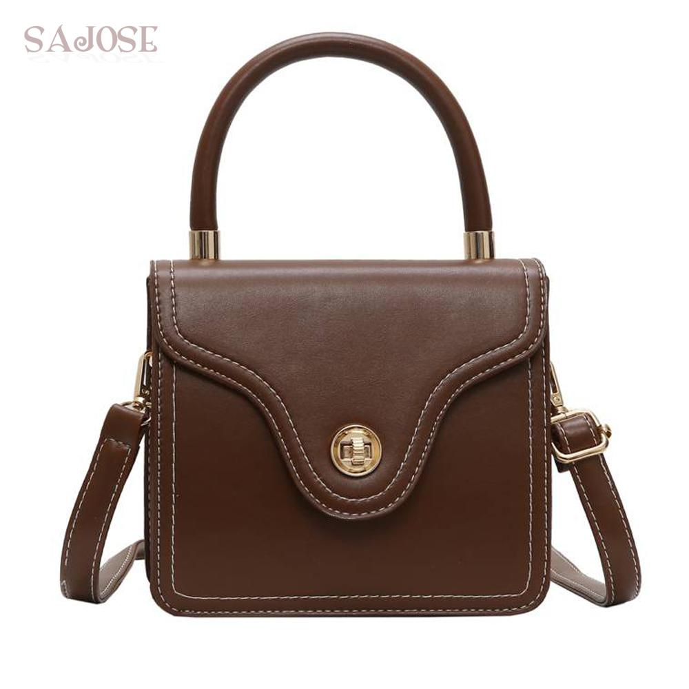 afd1457aead18 Women Bags Fashion Leather Totes Vintage Top Handle Bag Designer Female  Shoulder Bags Famous Brand Handbags Casual For Girl Wholesale Bags Discount  Designer ...