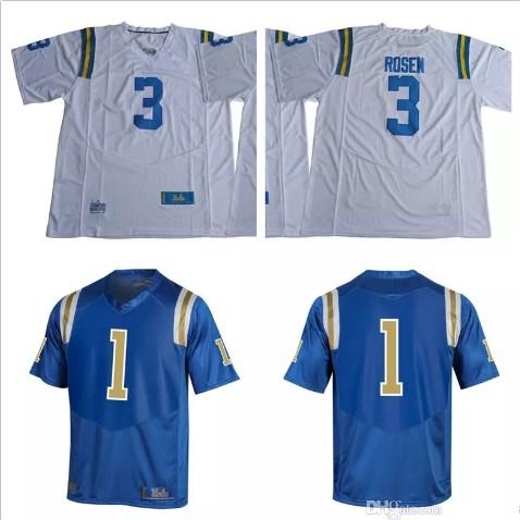 4da07626e 2019 New NCAA UCLA Bruins #3 Josh Rosen Brandon Burton 15 Jaelan Phillips  42 Jackie Robinson Stitched College Football Blue White Jerseys S 3XL From  Probowl ...