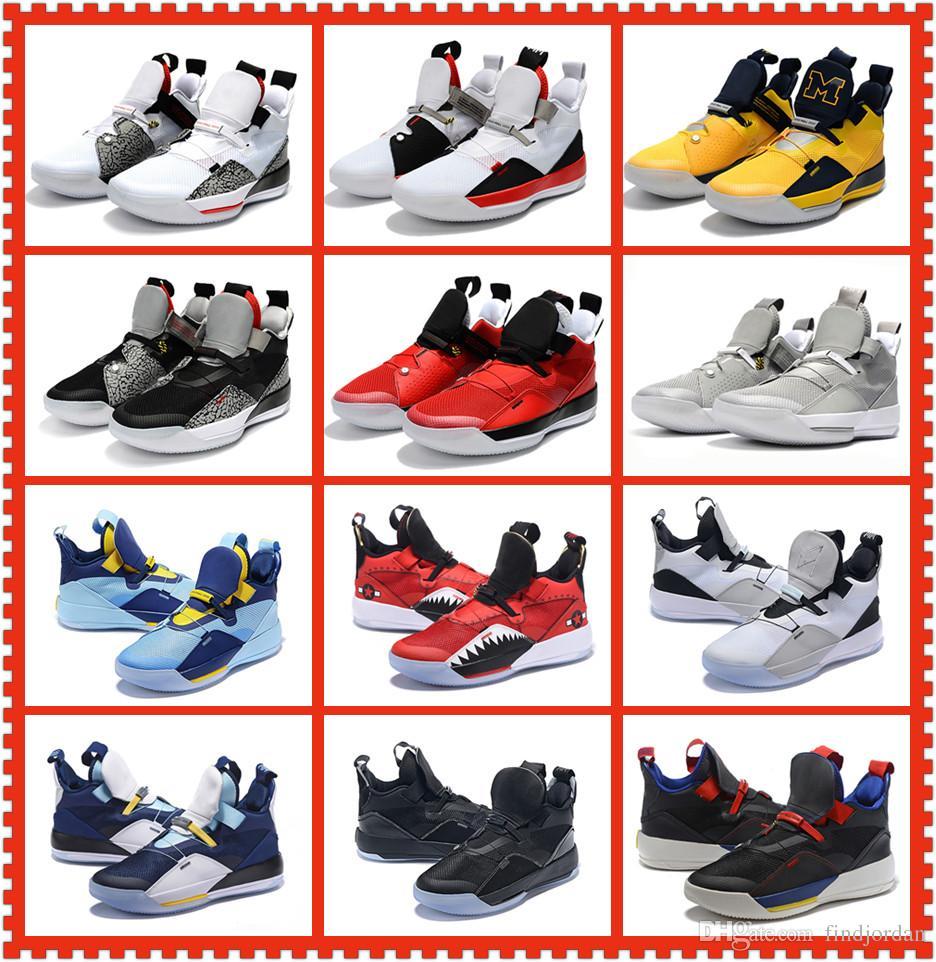 d644b78a00123 Acheter 33 XXXIII Noir Blanc Imprimé Léopard Hommes Chaussures De Basket  Ball 33s Visible Utility Michigan PE Hommes Baskets Rouge Gris Formateur  Designer ...