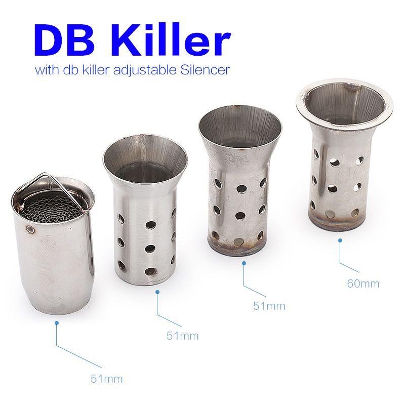 db killer 60mm  Acquista DB Killer Universal 51mm 60mm Silenziatore Moto Scarico ...