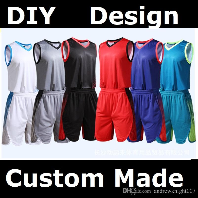 b5d1d030b Custom Basketball Tank Tops Make Your OWN Jersey Personalized Team Uniforms  DIY Number Team Name Logo Basketball Tracksuit Basketball Training Suit ...