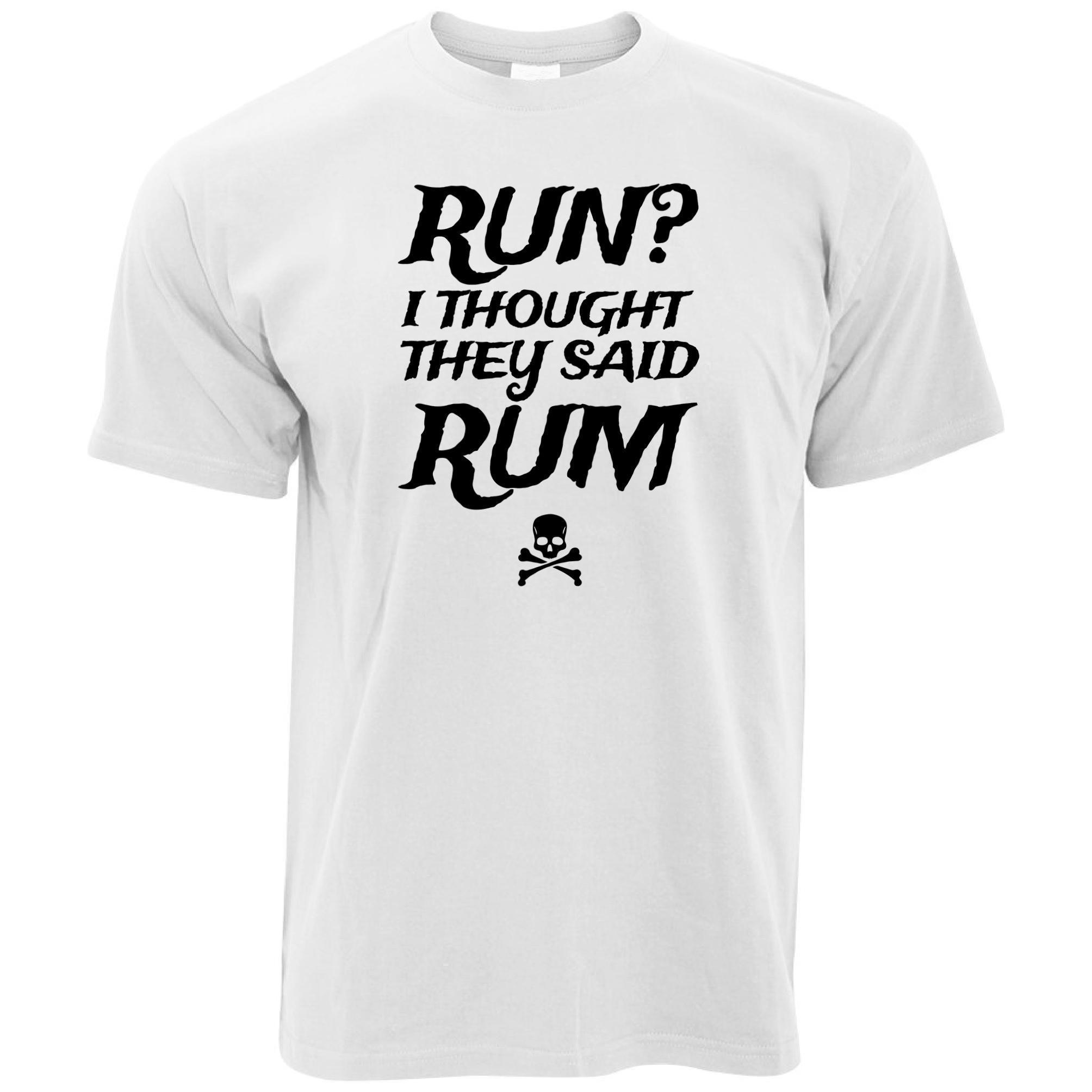 5e5f0611 Run? Mens T Shirt I Thought You Said Rum! Pirate Funny Slogan Cool Design  Pun Awesome T Shirts For Guys Cool Tee Shirt Designs From Lefan09, $14.67|  DHgate.