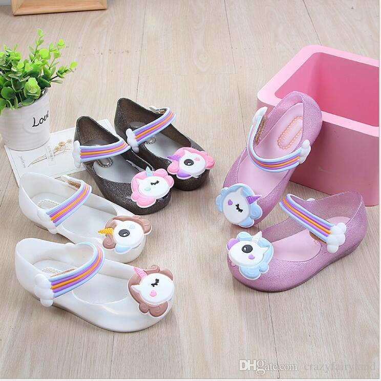 Shoes little finger Comfortable Baby Shoes Summer Fashion Sweet Newborn Baby Girls Flower Soft Silicone Sole Sandal Shoes Shoes & Bags