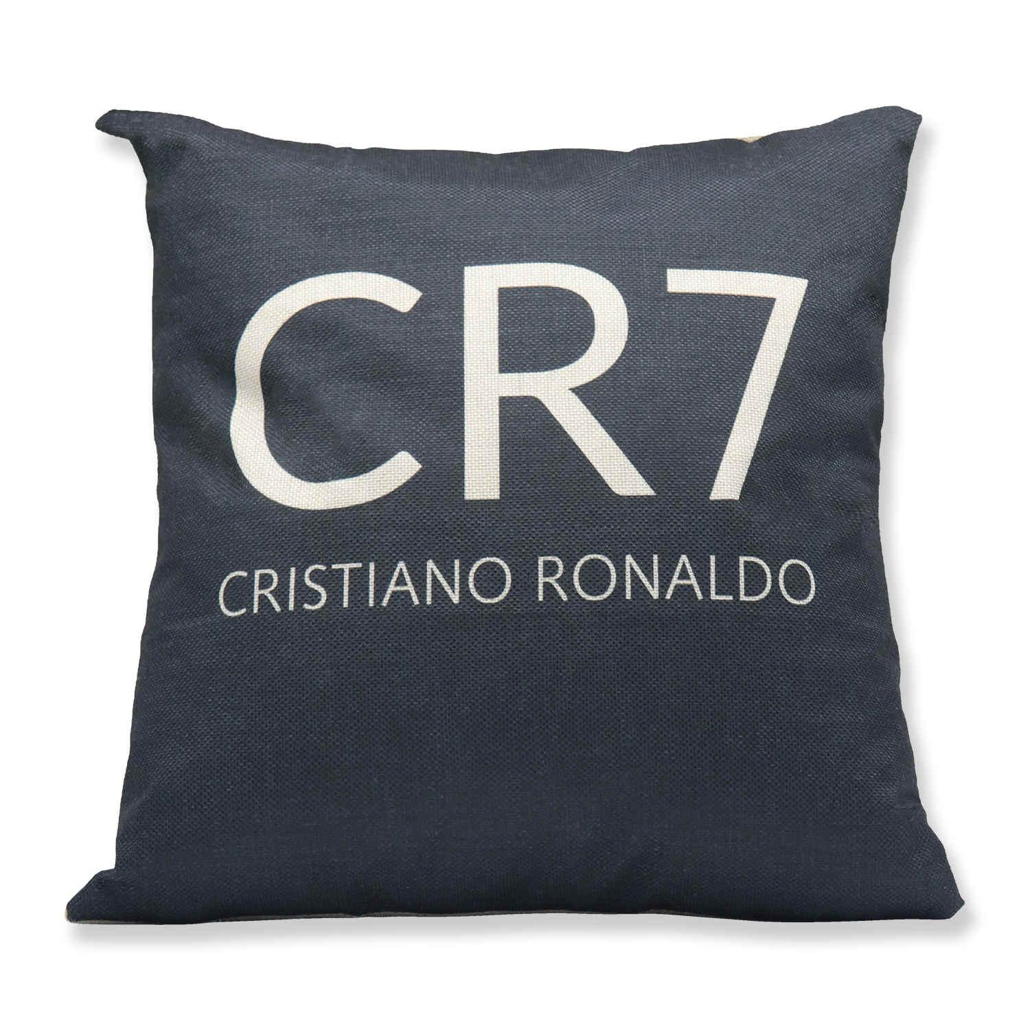 Real Madrid RONALDO Calcio di stampa del modello Casa-Arredo Car Pillow Cushion Set Flag Football 40 * 40 biancheria di cotone