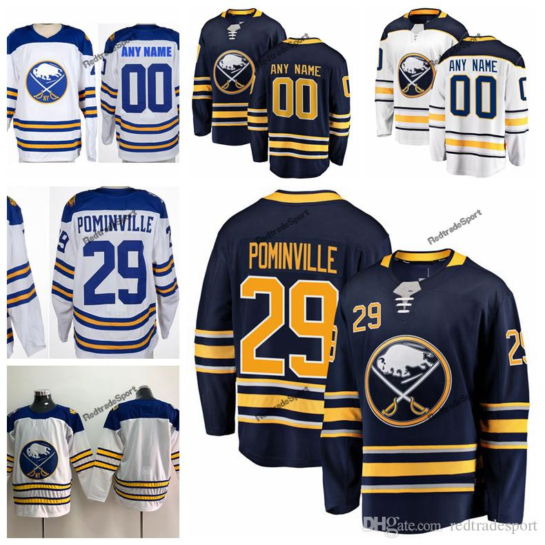 c31fcfd38f5 2019 2018 Winter Classic Jason Pominville Buffalo Sabres Hockey Jerseys  Mens Custom Name 29 Jason Pominville Stitched Shirts S XXXL From  Redtradesport, ...