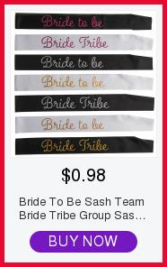 Bride To Be Sash Team Bride Tribe Sash for Wedding Party Bridal Shower Bachelorette Party Decorations Favors Gifts Supplies