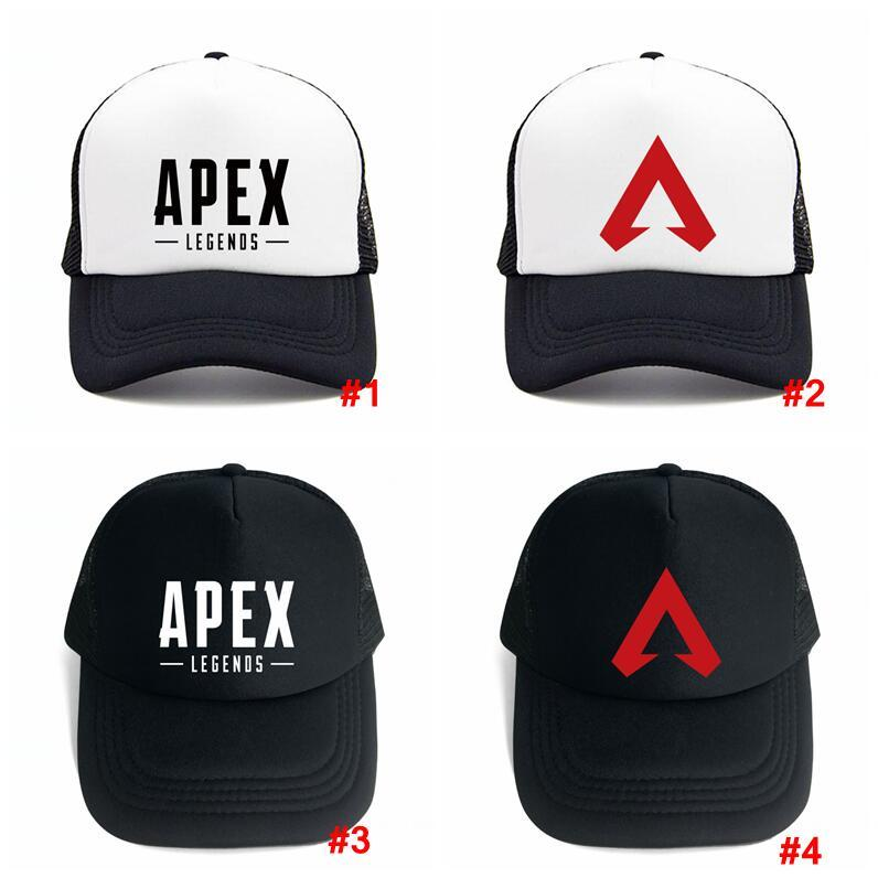 e0bdae2b5aa Apex Legends Game Caps Summer Mesh Fashion Outdoor Baseball Cap Hip ...