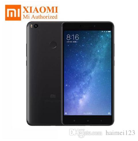 100% New Original Xiaomi Mi Max 2 4GB RAM 64GB 6 44 Display Snapdragon 625  Octa Core Mobile Phone Max2 12 0MP 4K Camera IMX386 5300mAh