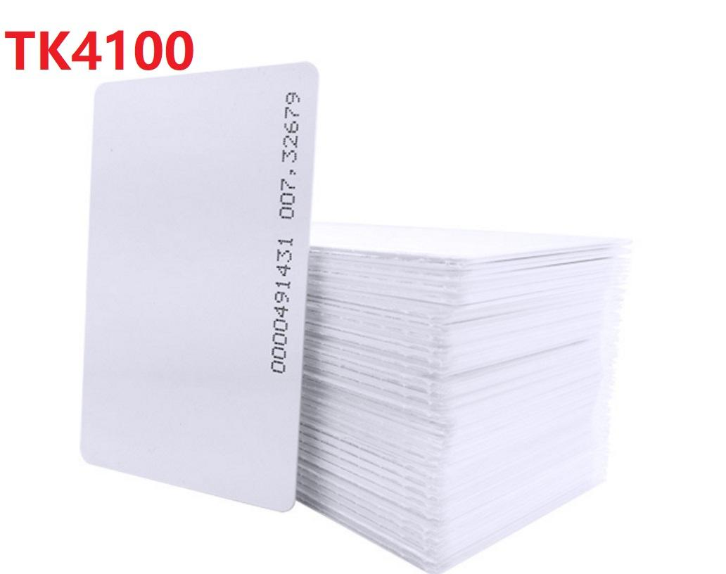 1000Pcs 125KHZ TK4100 With ID number Printing Blank Card High Quality RFID White ID PVC Card DHL
