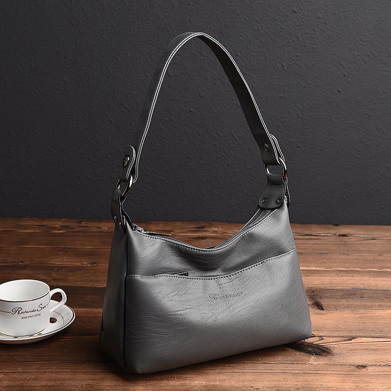 ad82133171a1 High Quality Genuine Leather Women s Handbags Shoulder CrossBody ...