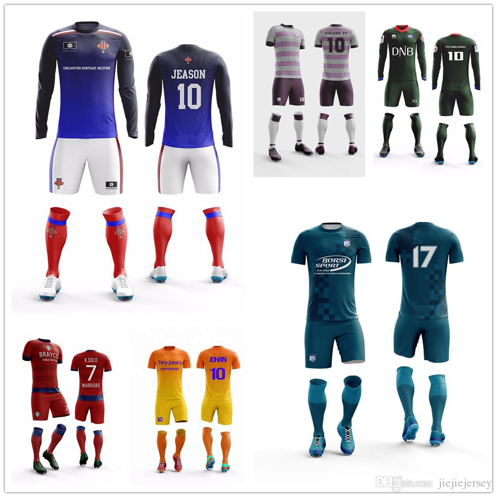 outlet store 07ae1 a68da Cheap Custom football jersey Design Your Own Soccer Uniforms Customized  Professional Wholesale Mens Soccer Jersey