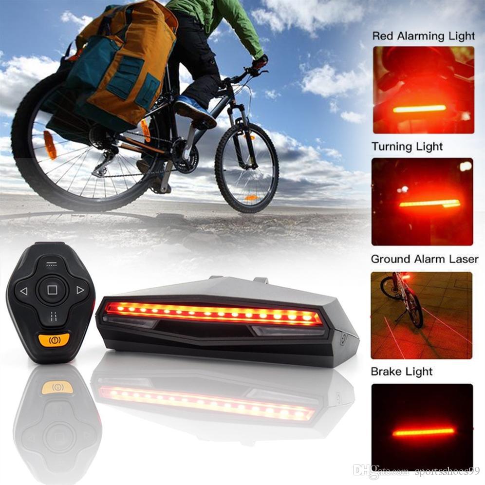 3f654db29 Compre Bicicleta Bicicleta De Cola Trasera Lámpara De Luz LED ...