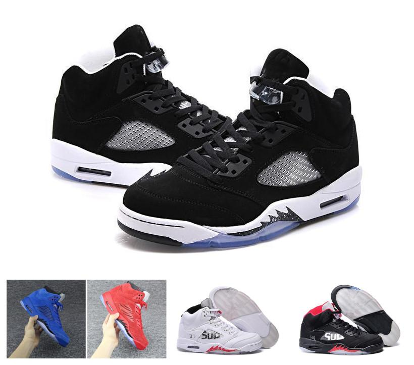 33e4a3f2bf3ae9 2018 New Mens Retro Basketball Shoes 5 5s V Olympic Metallic Gold ...