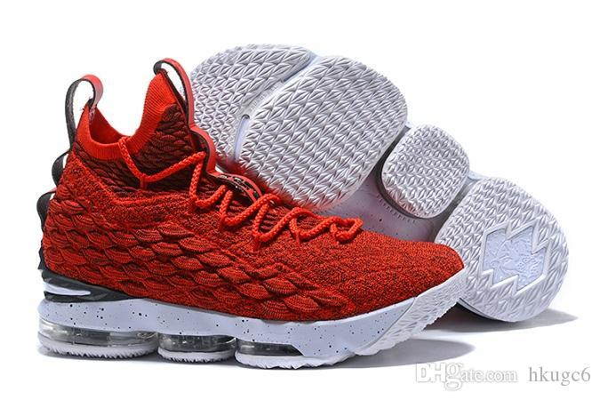 b9af0168cff38 2018 Newest Ashes Ghost Fruity LEBRON 15 Basketball Shoes Shoes Arrival  Sneakers 15s Mens Shoes 15 Size Eur 40 46 Canada 2019 From Hkugc6