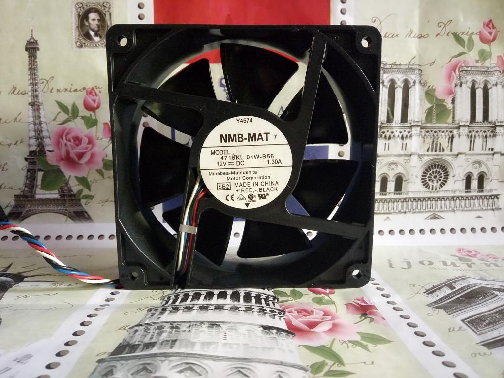 For Original NMB 12cm 12V 1.3A Dell Y4574 4715KL-04W-B56 Ant Fan