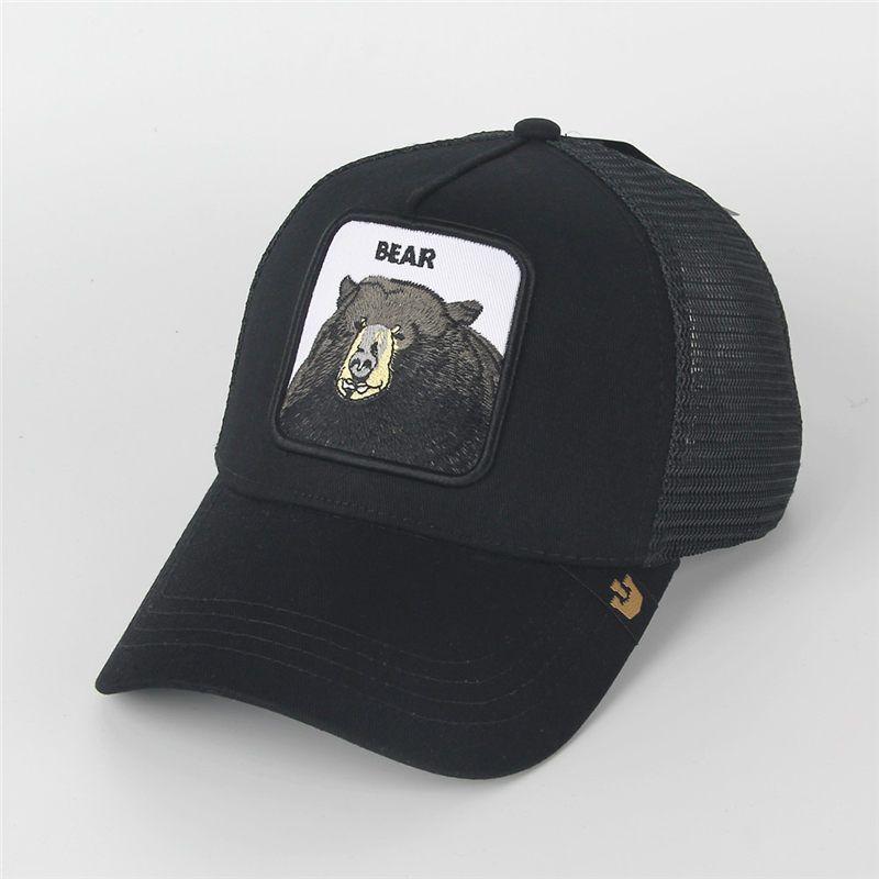 525125f4012be Fashion Visor Summer Mesh Caps Embroidery Animals Baseball Hats Men Women  Adjustable Sun Hat Ball Cap Lover Gift Flat Caps For Men Womens Baseball  Hats From ...