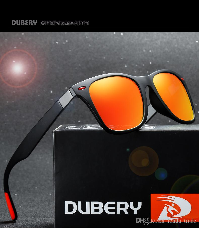 308d2f592239 ... 9687d7a5ba with Packages DUBERY Vintage Sunglasses Polarized Men s Sun  Glasses For Men Square Shades Driving