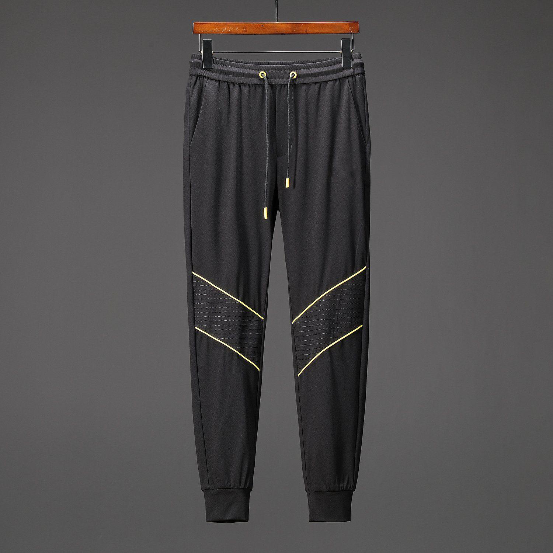 60945cd54 2019 Men Joggers Pants Cargo Pants Zipped Ankle Striped Track Pants  Contrast Stripes Sweatpants Mock Fly Jogger Fashion Designer Sweatpants  From Szghhcool
