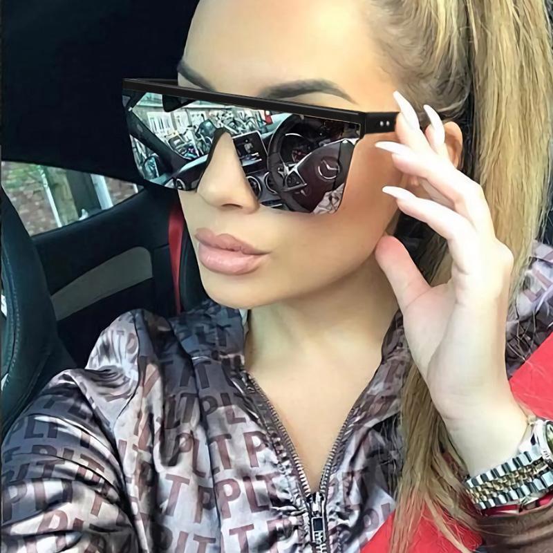 05ae237774 Compre RFOLVE Cuadrados De Gafas De Sol De Las Mujeres De La Marca  Ultraligero Gafas Gafas De Sol De Viaje Anti UV Gafas Damas Shades R109 A  $36.21 Del ...