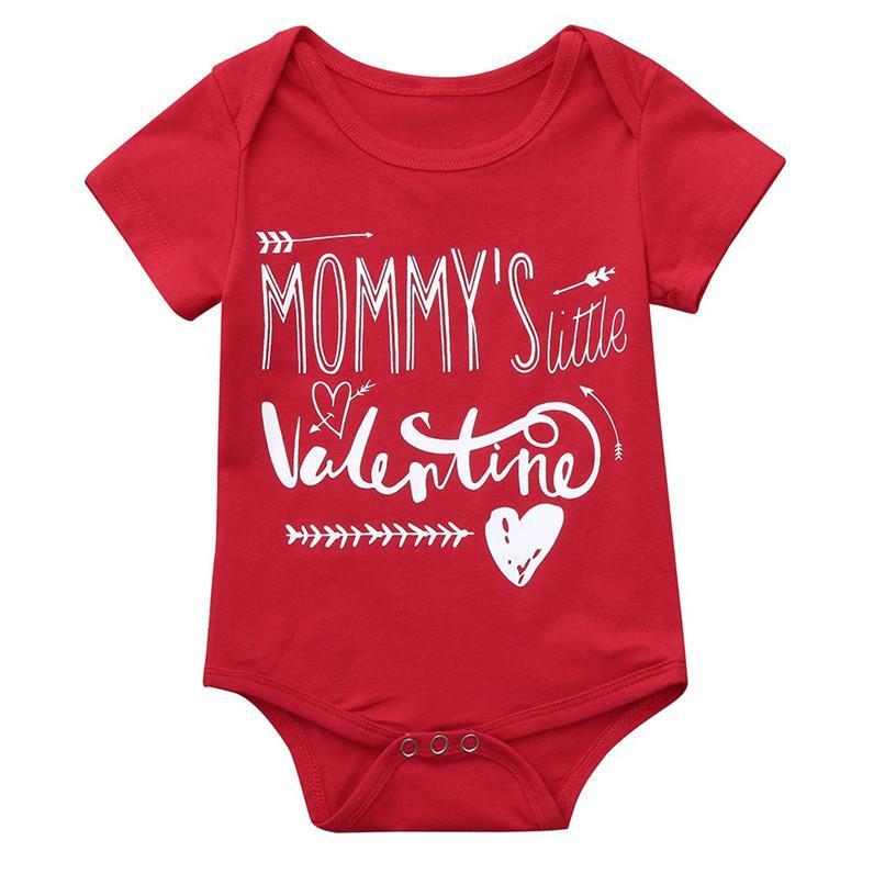 9361b0cd4ff9 Baby Romper Newborn Baby Costume Infant Boy Girl Valentine s Day ...