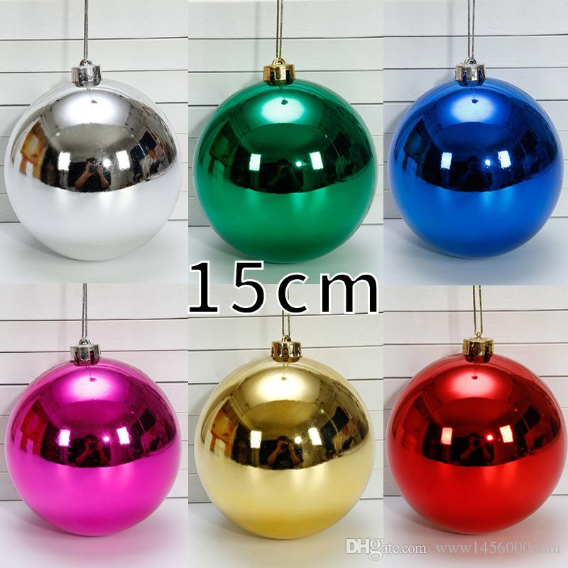 Colors Christmas.15cm Colors The Christmas Tree Xmas Balls Decorations Fashion Bauble Hanging Party Drop Pendant For Diy Xmas Party