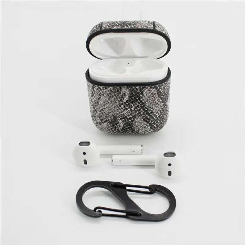 78c5dee7d2e Compre Para AirPods Estuche Con Correa Funda Protectora De Plástico Duro  Con Mosquetón Para Apple IPhone 7 8 X Más Auriculares Inalámbricos  Accesorios Para ...