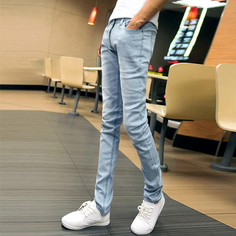 e8e4ea35 2019 New Fashion Men'S Casual Stretch Skinny Jeans Trousers Tight Pants  Solid Colors Skinny Jeans For Men Streetwear Hip Hop Stretch From Baicao,  ...