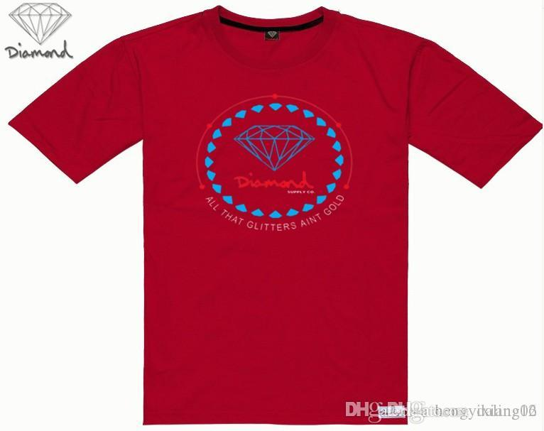 NEW Fashion Designer Kids T-Shirt Diamond Supply T-Shirts Mens Clothing Luxury Casual T-Shirts For Men With Print Logo T-Shirt 42830